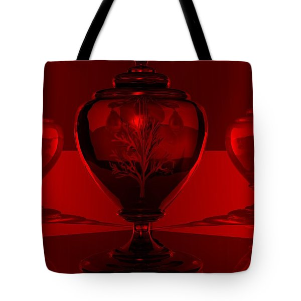 Tote Bag featuring the digital art Incubation by John Pangia