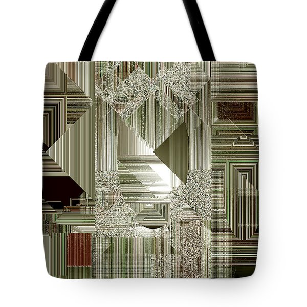 Tote Bag featuring the painting Indecision I by RC deWinter