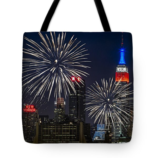 Independence Day Tote Bag by Eduard Moldoveanu