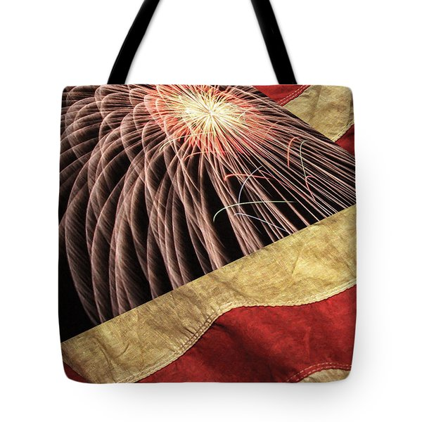 Independence Day  Tote Bag by Lanjee Chee