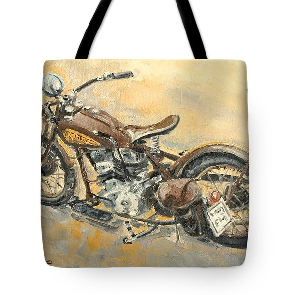 Indian Chief 1938 Tote Bag