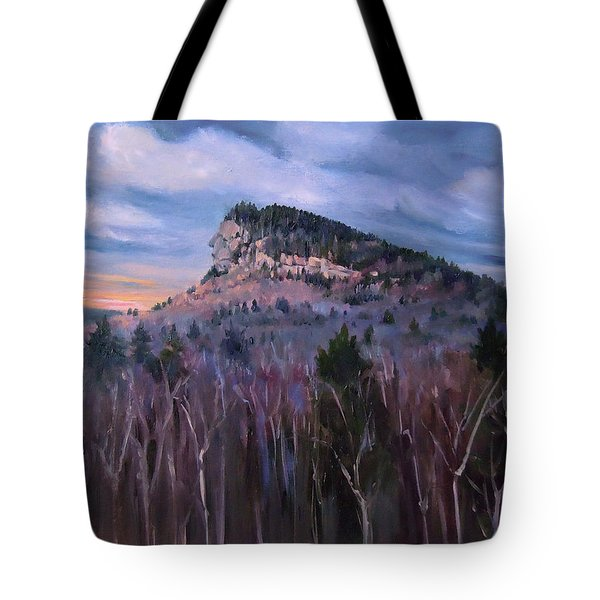 Indian Head In Lincoln New Hampshire Tote Bag