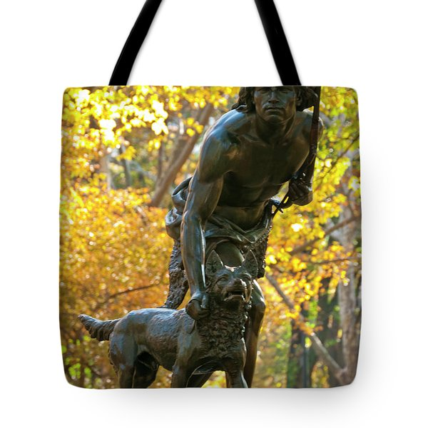 Indian Hunter Tote Bag