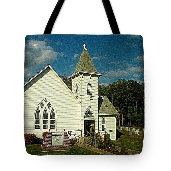 Indian Mission United Methodist Church Harbeson Delaware Tote Bag
