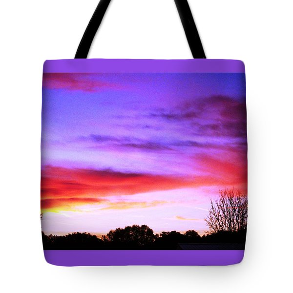Indian Morning Sky Tote Bag