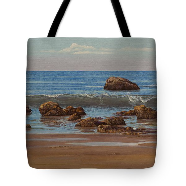 Indian Ocean. Gokarna. Kudlee Beach Tote Bag