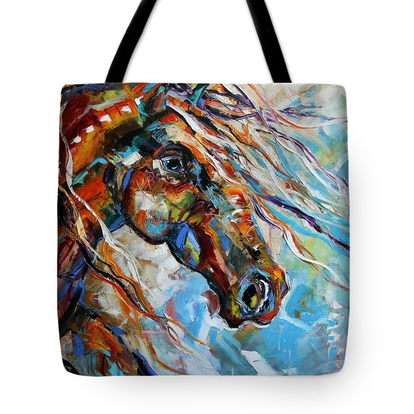 Indian Paint Pony Tote Bag