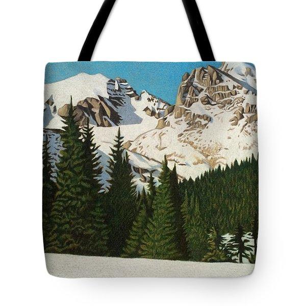 Indian Peaks Winter Tote Bag