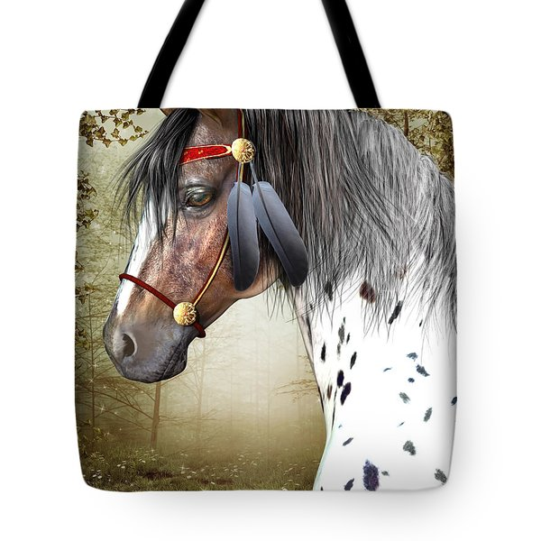 The Indian Pony Tote Bag
