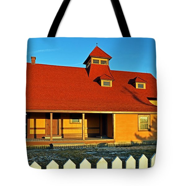 Indian River Lifesaving Station Museum Tote Bag