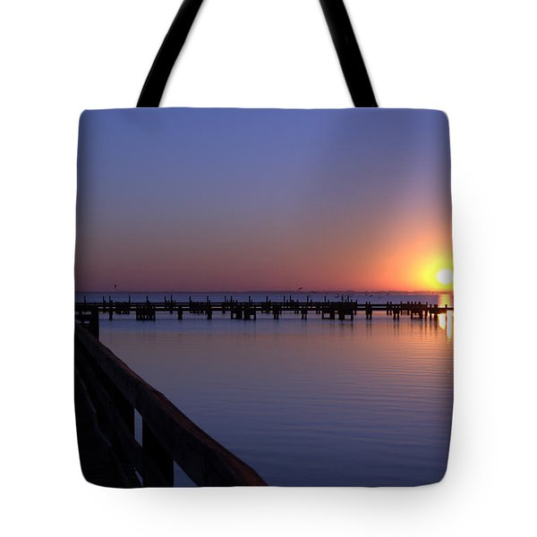 Indian River Sunrise Tote Bag by Brian Harig