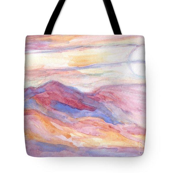 Indian Summer Sky Tote Bag
