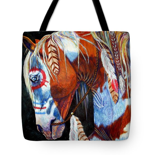 Indian War Pony Tote Bag
