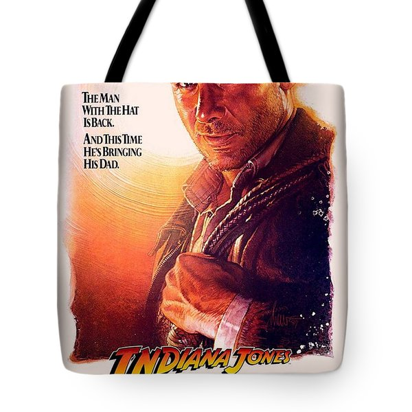 Indiana Jones And The Last Crusade  Tote Bag by Movie Poster Prints