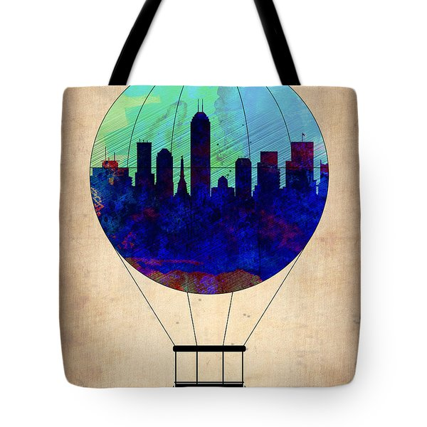 Indianapolis Air Balloon Tote Bag