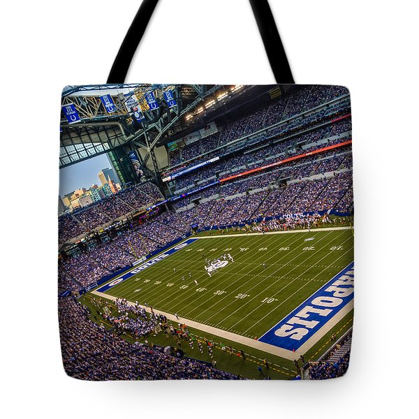Indianapolis And The Colts Tote Bag