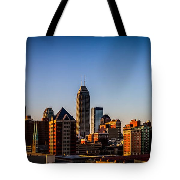 Indianapolis Skyline - South Tote Bag