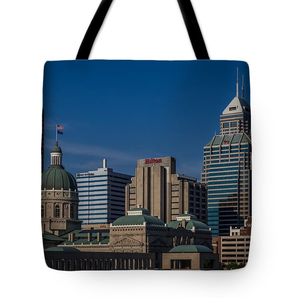 Indianapolis Skyscrapers Tote Bag