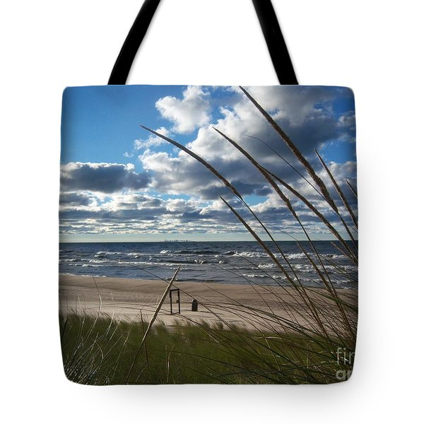 Indiana Dunes' Lake Michigan Tote Bag