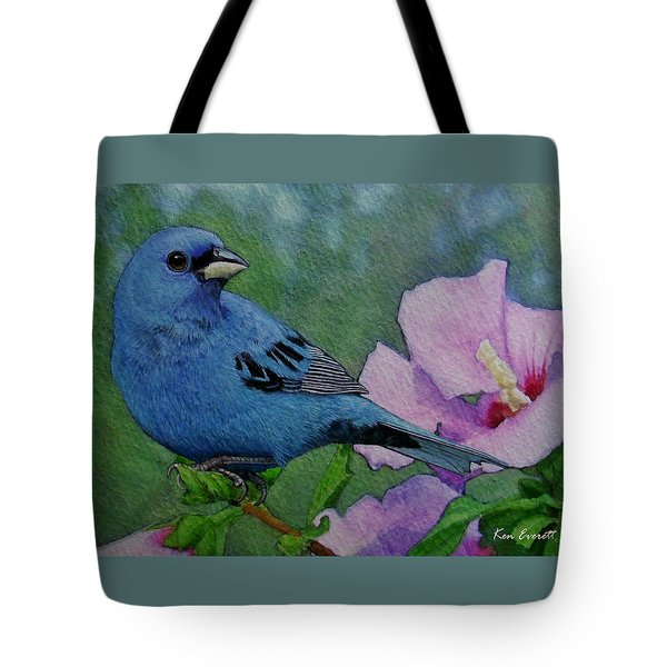 Indigo Bunting No 1 Tote Bag