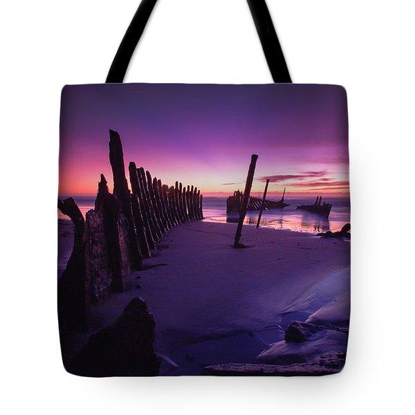 Indigo Dawn Tote Bag