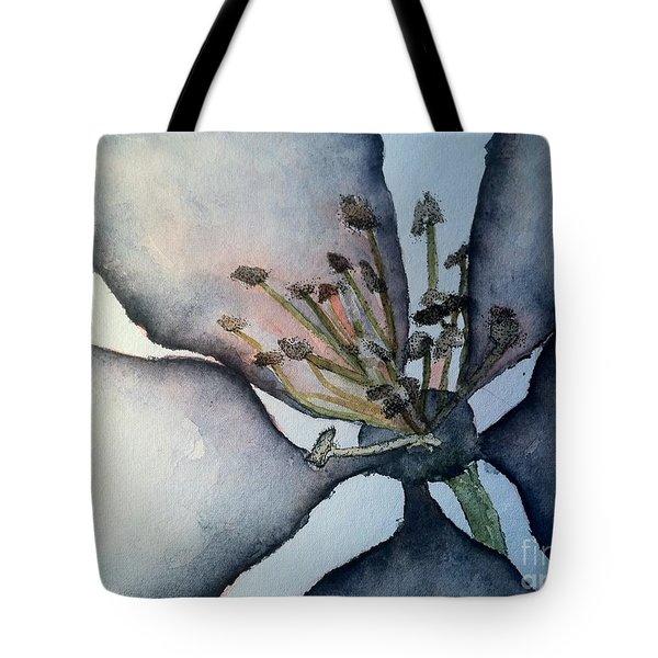 Indigo Tote Bag by Sherry Harradence