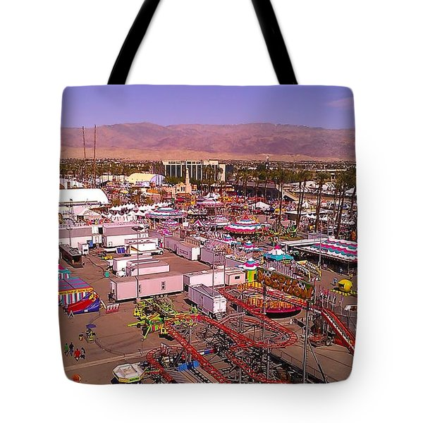 Indio Fair Grounds Tote Bag