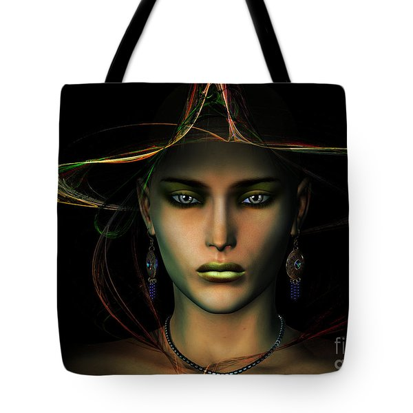 Tote Bag featuring the digital art Individuality by Shadowlea Is