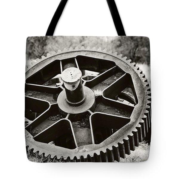 Industrial Gear Tote Bag by Scott Pellegrin