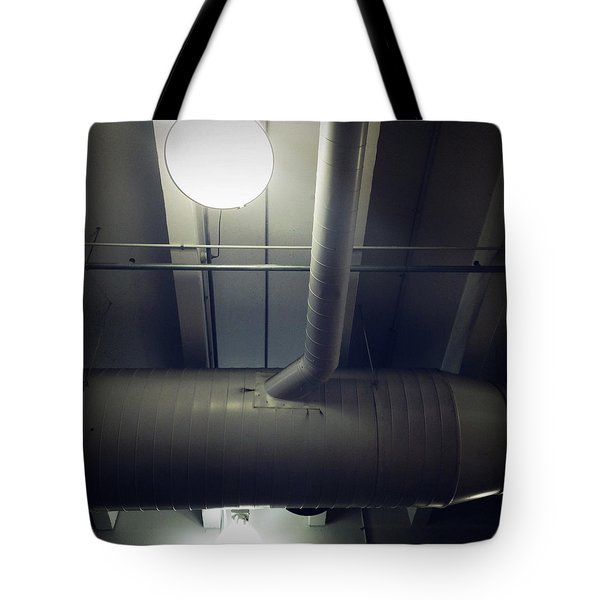 Industrial Interior Tote Bag by Les Cunliffe