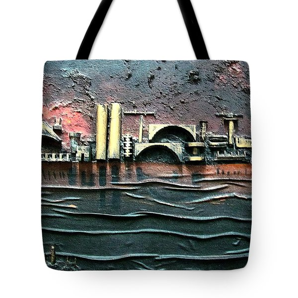 Industrial Port-part 2 By Rafi Talby Tote Bag by Rafi Talby
