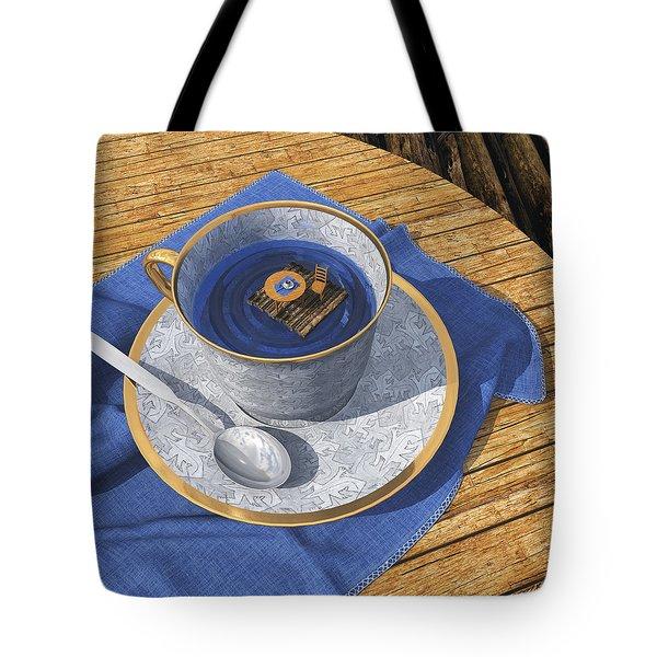 Infinitea Tote Bag by Cynthia Decker