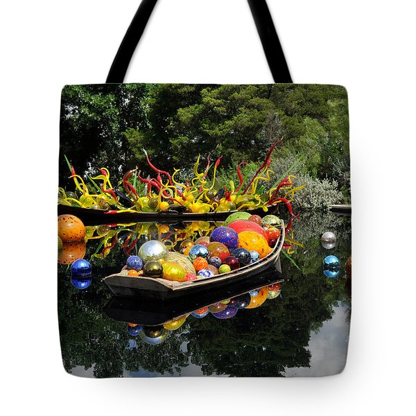 Infinity Boats Tote Bag