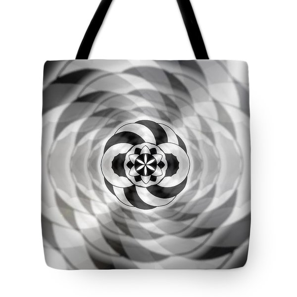 Tote Bag featuring the drawing Infinity Bonded by Derek Gedney