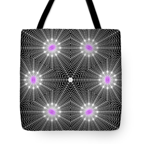 Infinity Grid Six Tote Bag