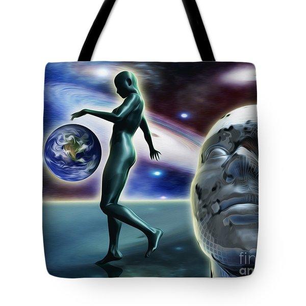 Infinity Vision Tote Bag
