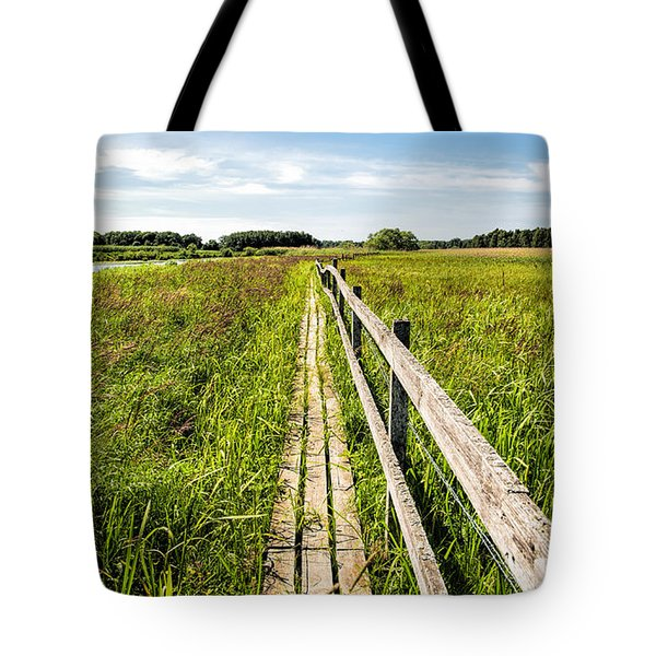 Infinity Way Tote Bag by Leif Sohlman