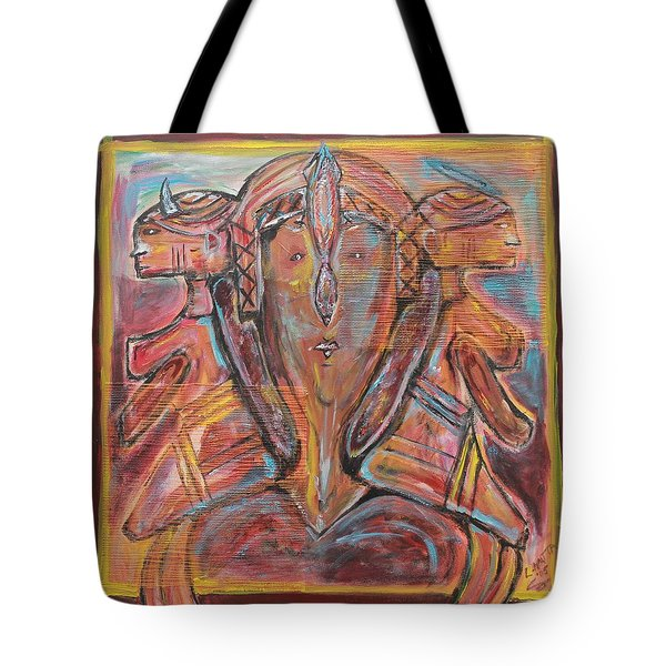Influences Tote Bag by Lucy Matta