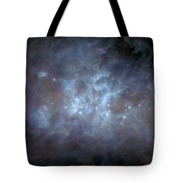 Infrared View Of Cygnus Constellation Tote Bag