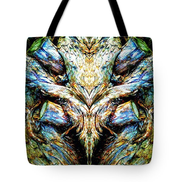 Ingrained Wings Tote Bag