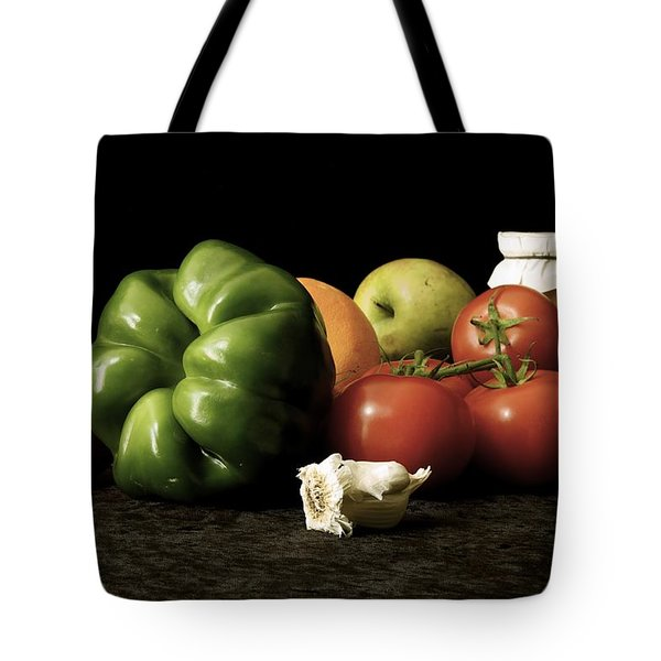 Ingredients Tote Bag by Elf Evans