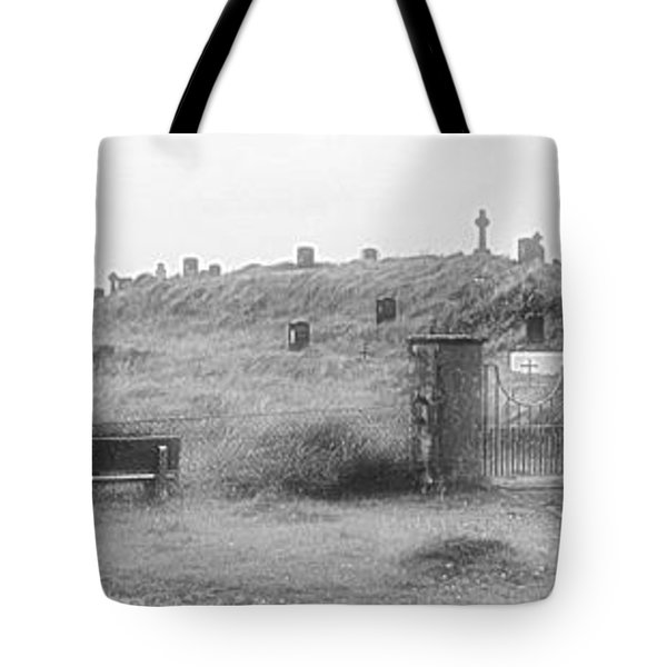 Inis Oirr Cemetery Tote Bag by Tara Potts