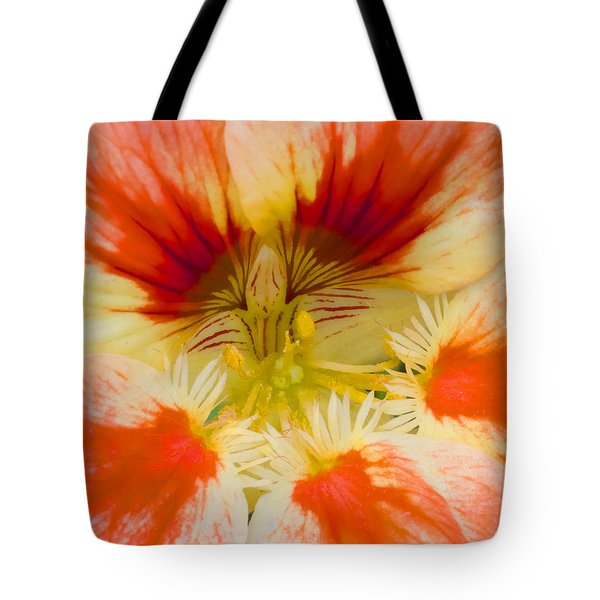 Tote Bag featuring the photograph Ink Blot by Heidi Smith