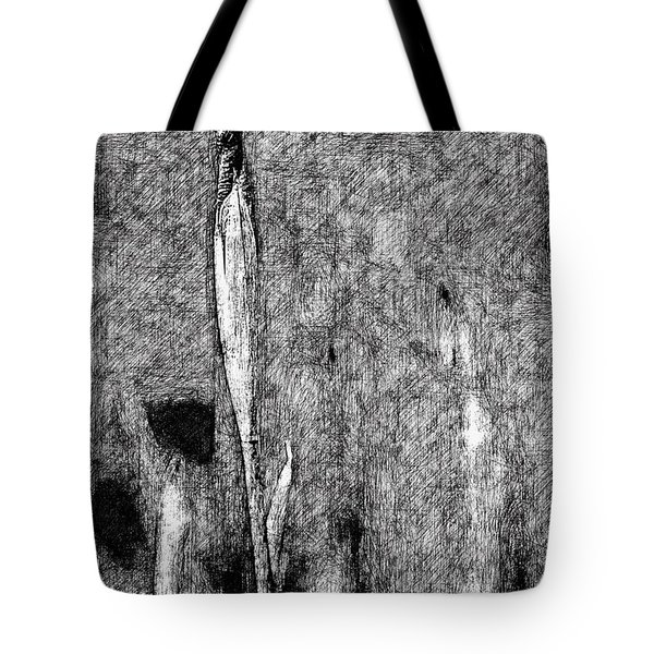 Ink Iris Tote Bag by Yevgeni Kacnelson
