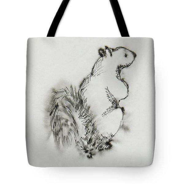 Ink Squirrel Tote Bag
