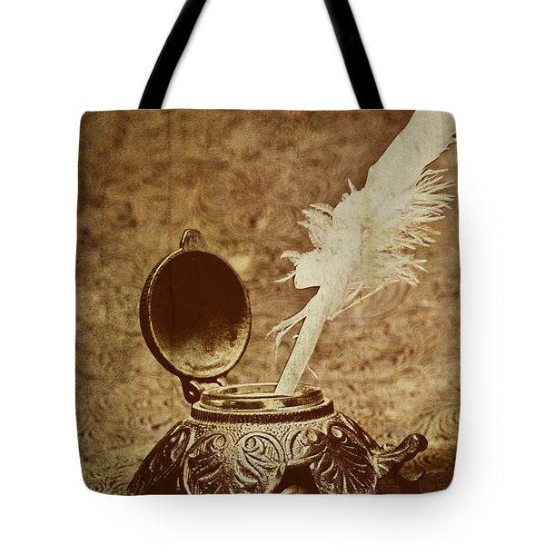 Inkwell II Tote Bag by Tom Mc Nemar