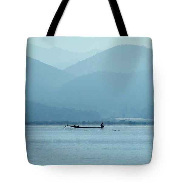 Inle Lake Tote Bag