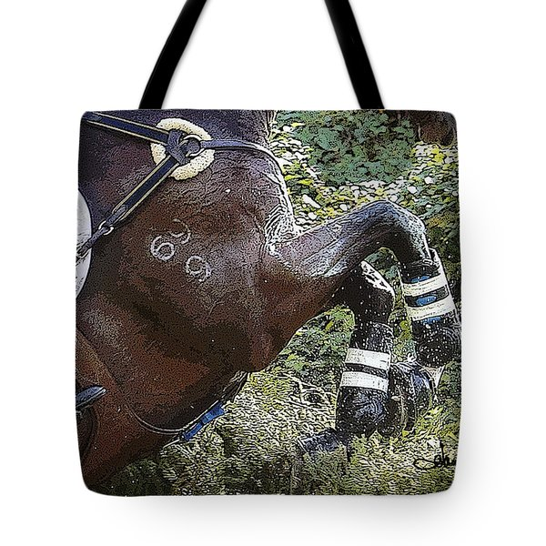 Inmidair Tote Bag by Joan Davis