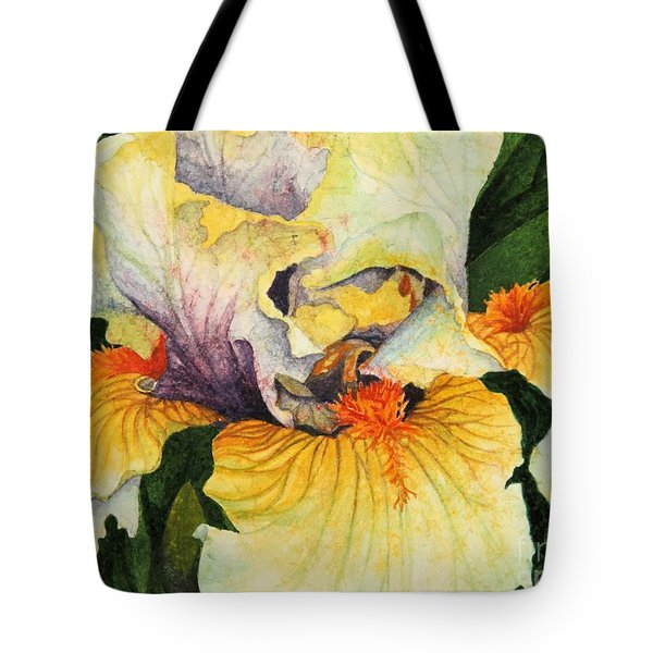 Tote Bag featuring the painting Inner Beauty by Barbara Jewell
