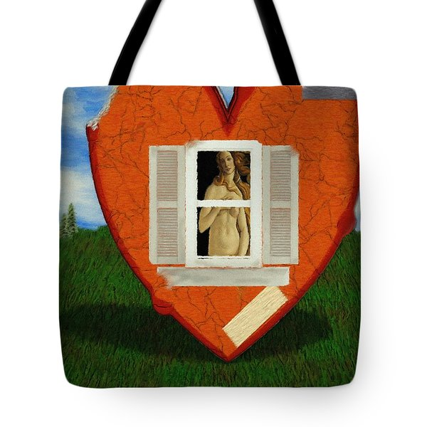 Inner Beauty Tote Bag by Jeff Kolker